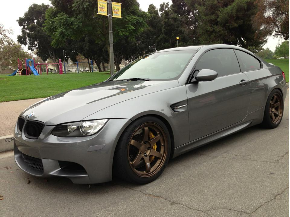 Bmw Rims Style >> Bronze Rims on Space Gray