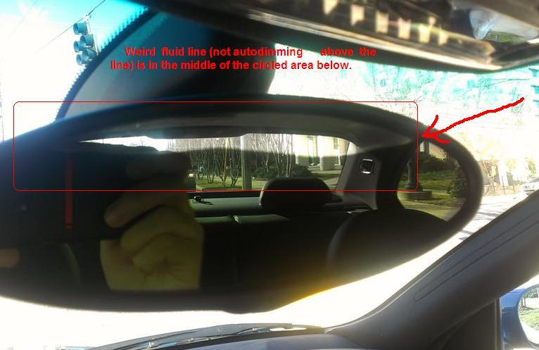 E46 M3 Rear View Mirror Q Fluid In Auto Dimming Mirror