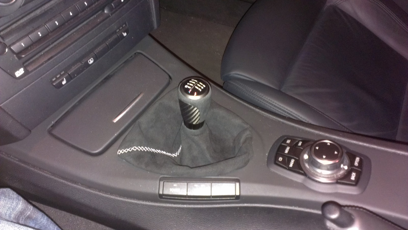 Installed F30 M Performance Knob
