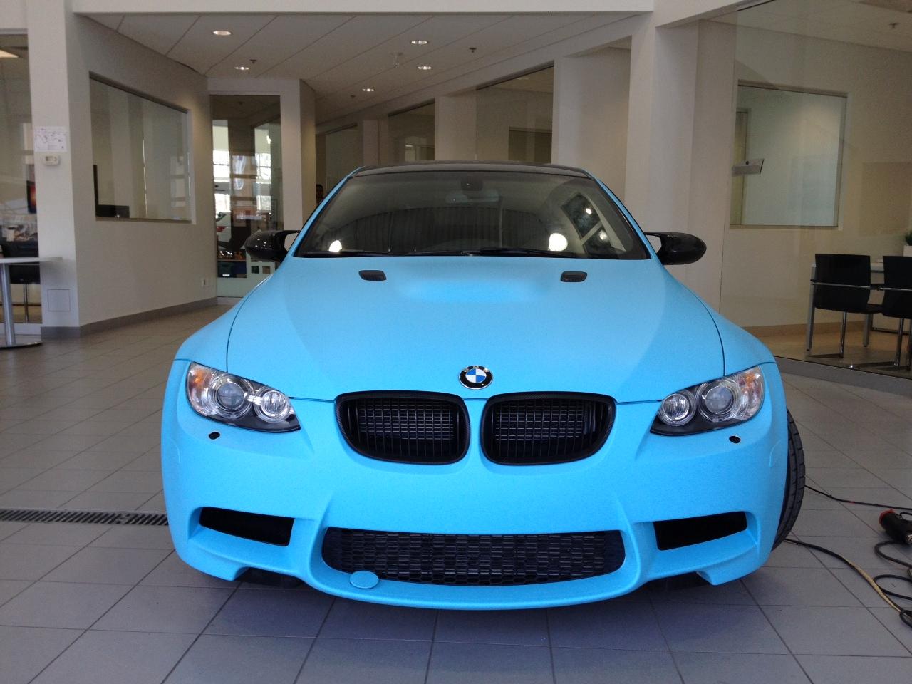 smurf blue m3