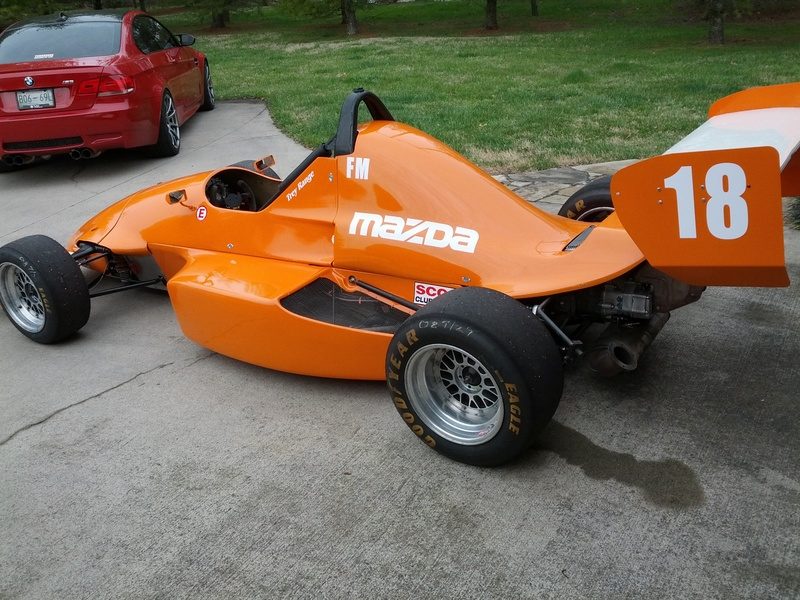 Tested Out The New Track Toy Last Weekend Formula Mazda - Formula mazda