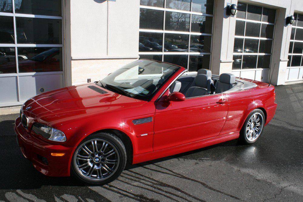 Fs 2003 Imola Red E46 M3 Convertible 30k Mint 365hp
