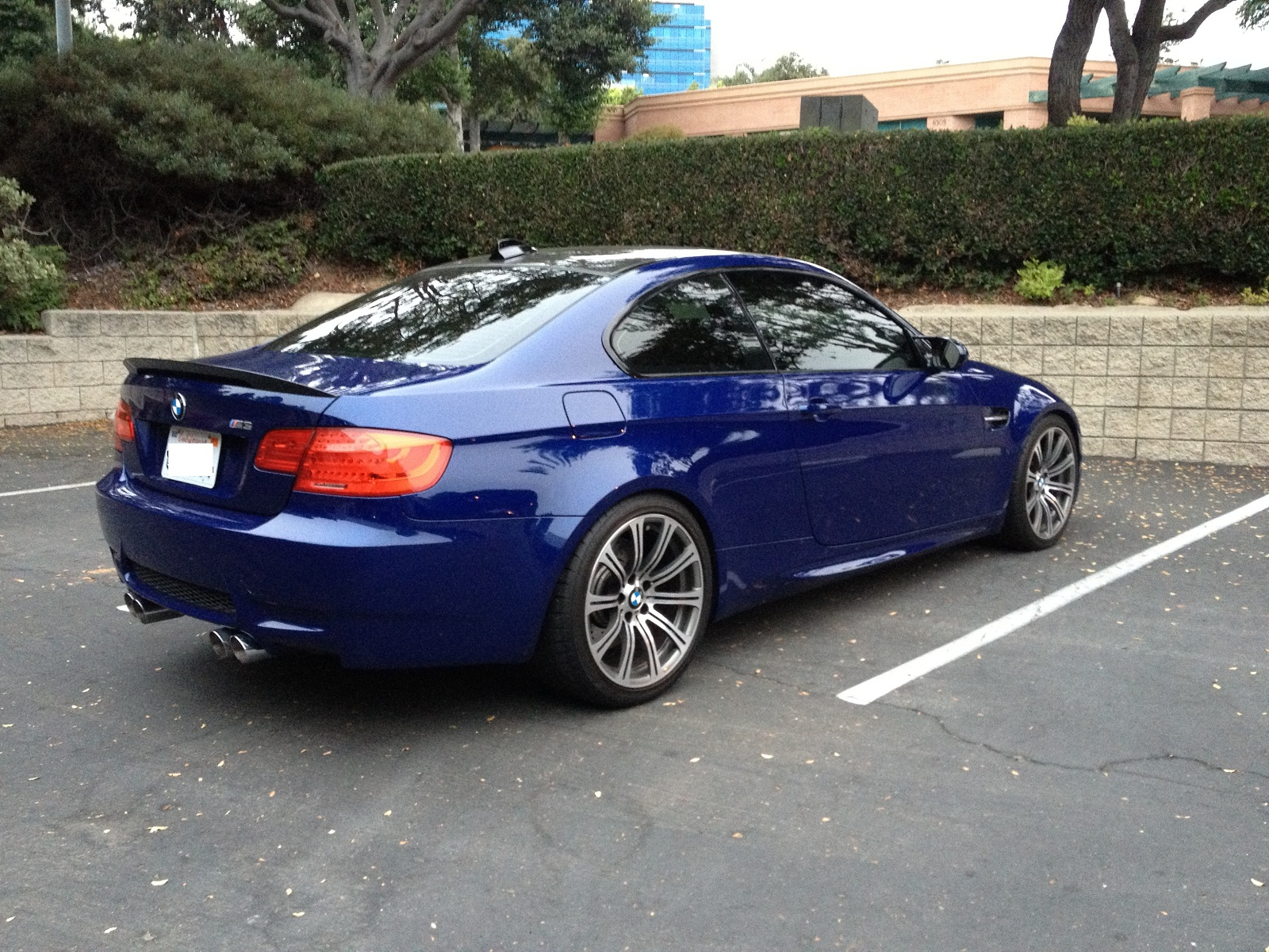 Feeler Fs 2009 E92 M3 Dct Navi Interlagos Blue