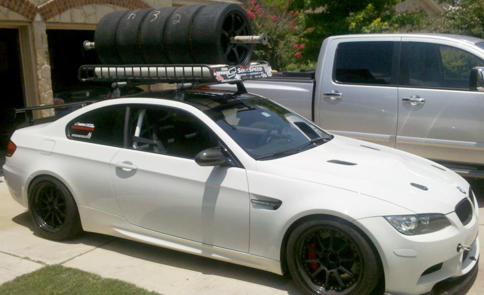 Roof Rack For Wheels Tires On E90