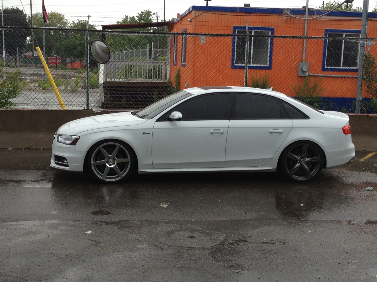 New 20 Quot Stance Wheels Mounted On B8 5 S4 Pics