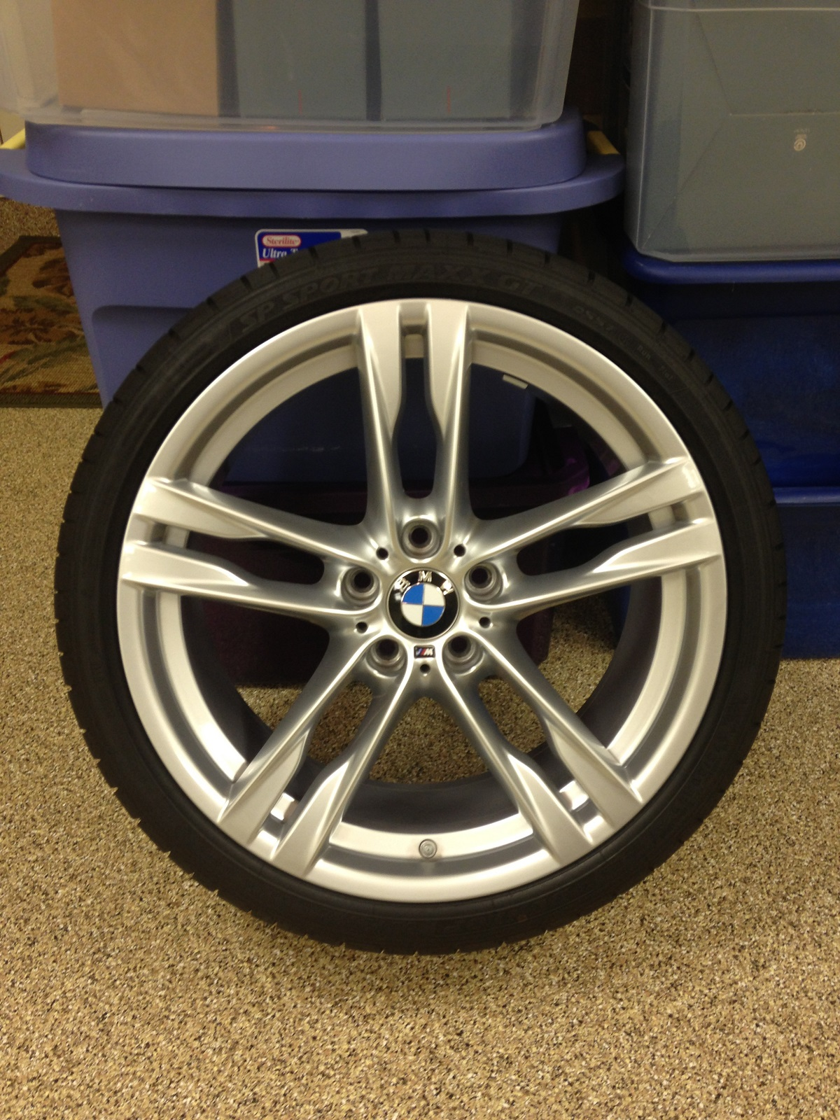 Fs Brand New 2014 650i M Sport Double Spoke Alloy Wheels