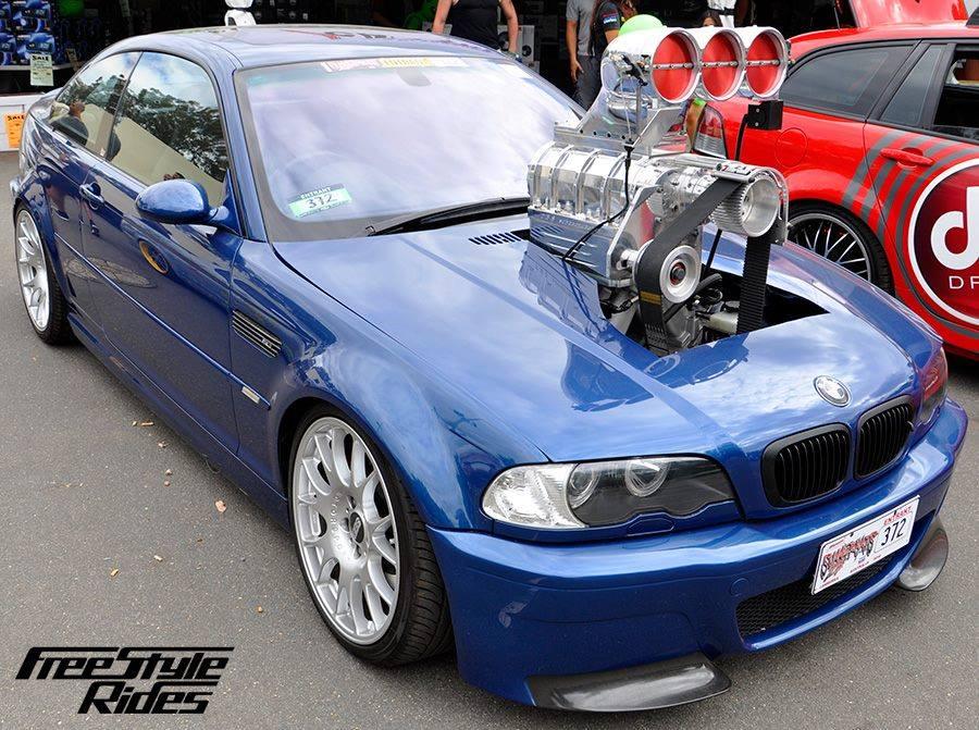 Custom supercharged e46 m3