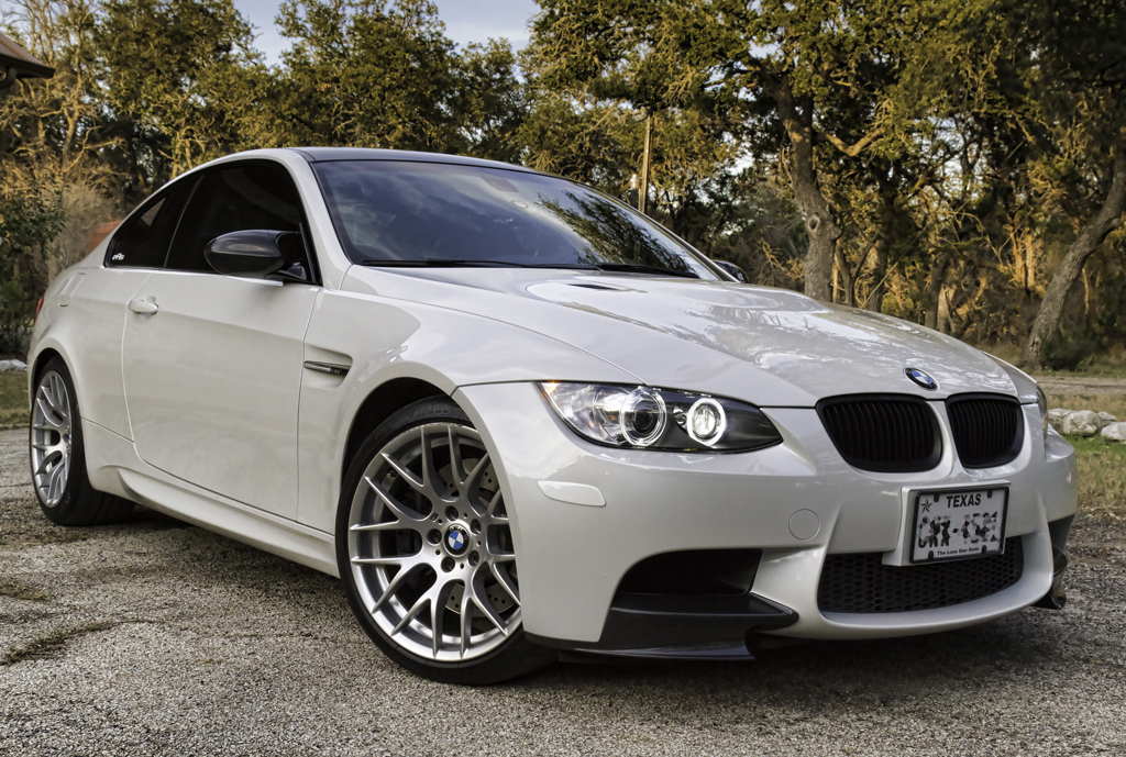Mineral White Color Matching Side Reflectors Bmw M3 And
