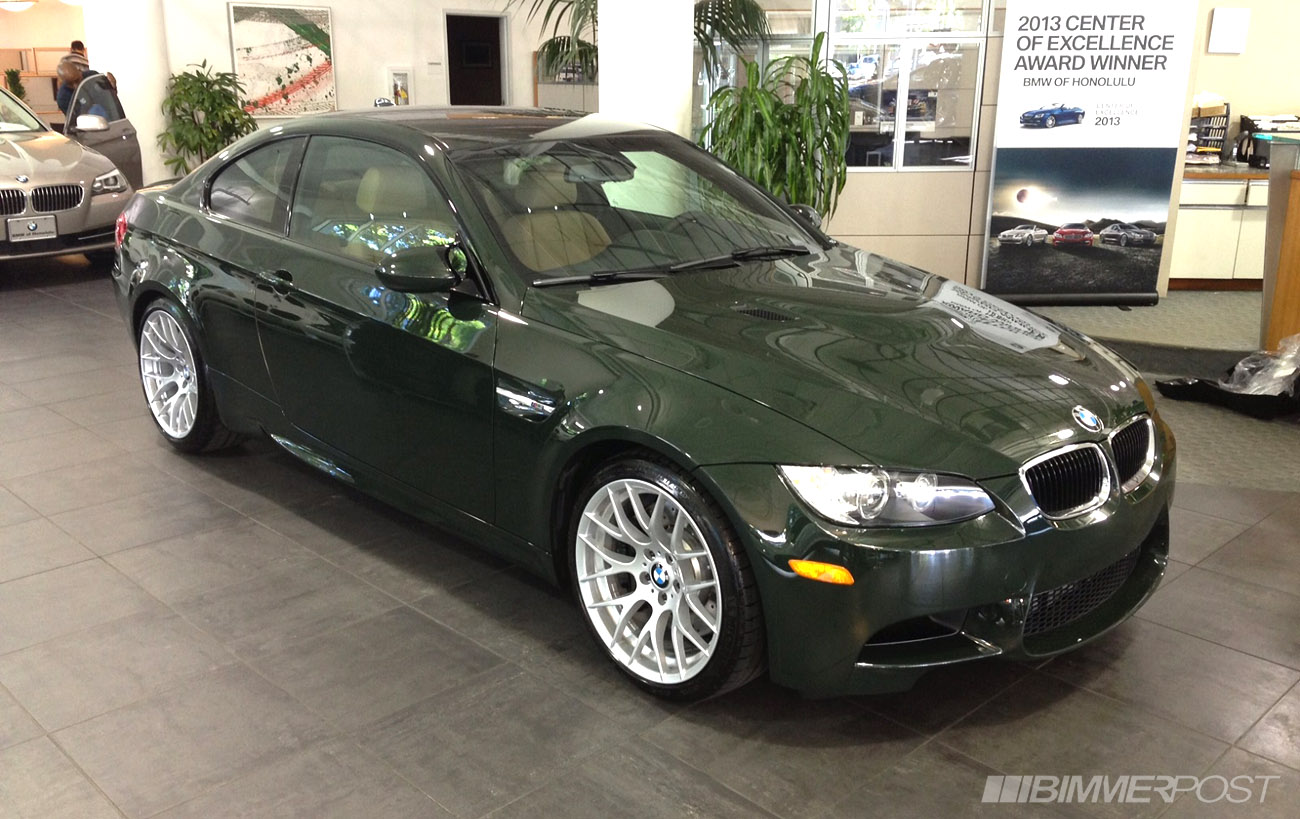 BMW West Springfield >> Brewster Green Individual 2013 M3 Coupe