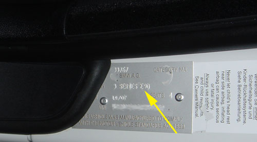 Compliance Plate On E92 M3