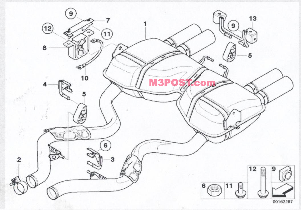 11787523434 35e46 likewise Showthread likewise  additionally Harness Bar Bmw E46 together with Manual Gearbox Gs6 53bz. on bmw m3 e92 exhaust diagram