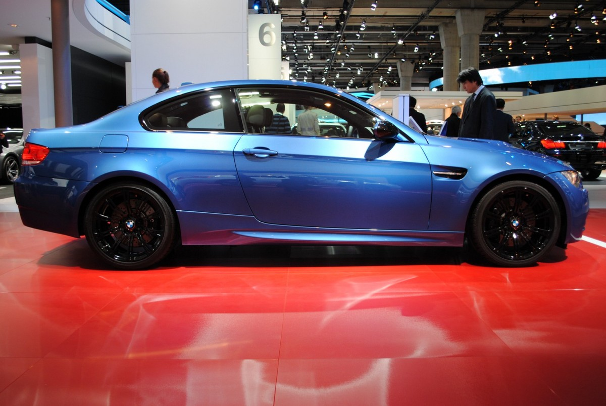 monte carlo blue bmw m3 edition showcased at frankfurt iaa. Black Bedroom Furniture Sets. Home Design Ideas