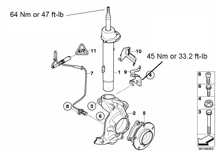 Some E92 M3 Suspension Torque Values