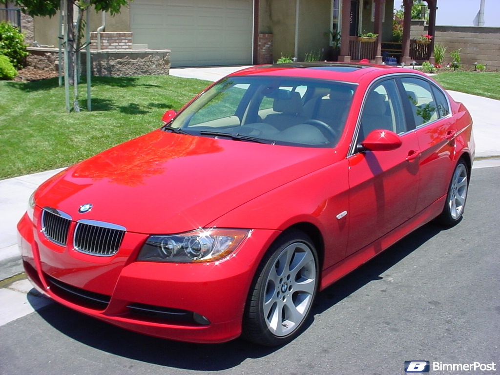 Red E90 S 2006 330i Bimmerpost Garage