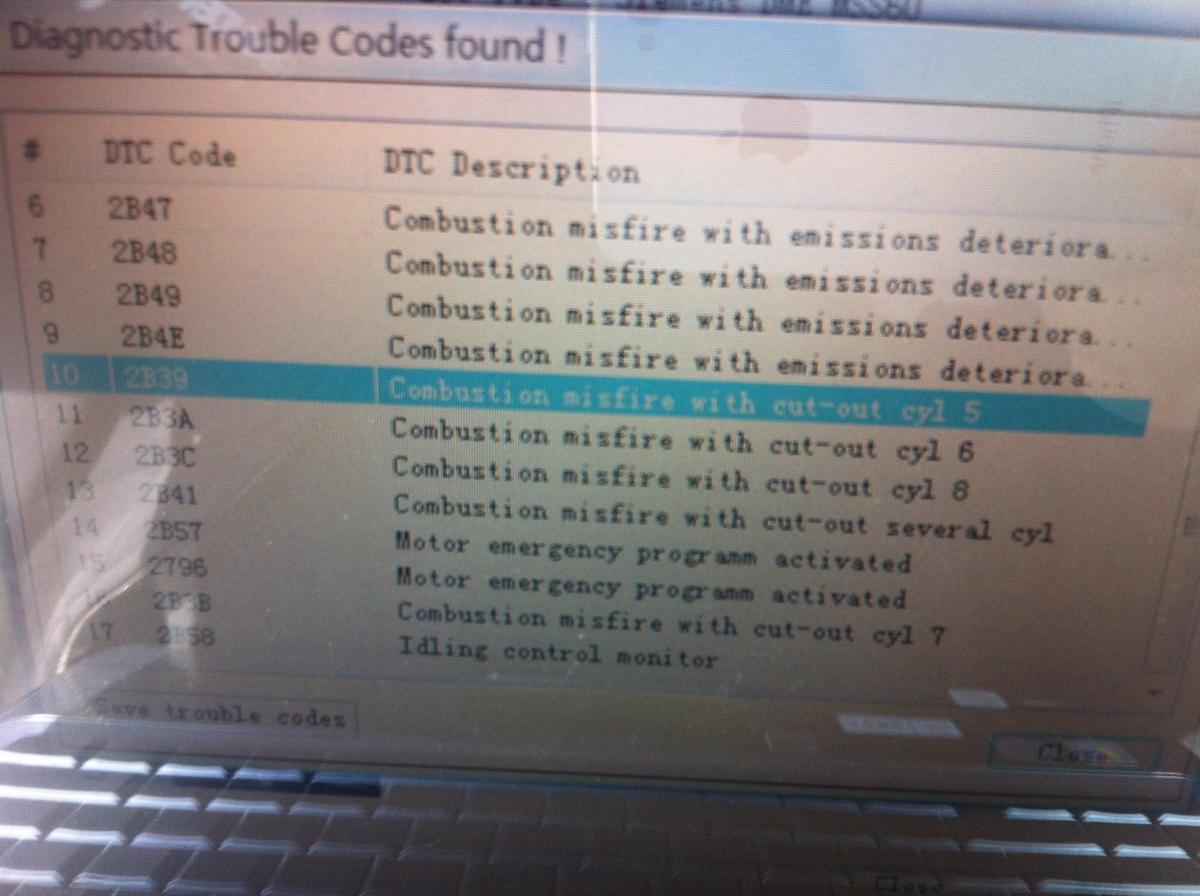 i got so many trouble code, CEL especially engine