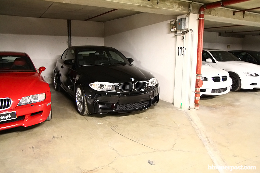 Some more new black 1m pics from bmw m headquarters today for Garage bmw 33