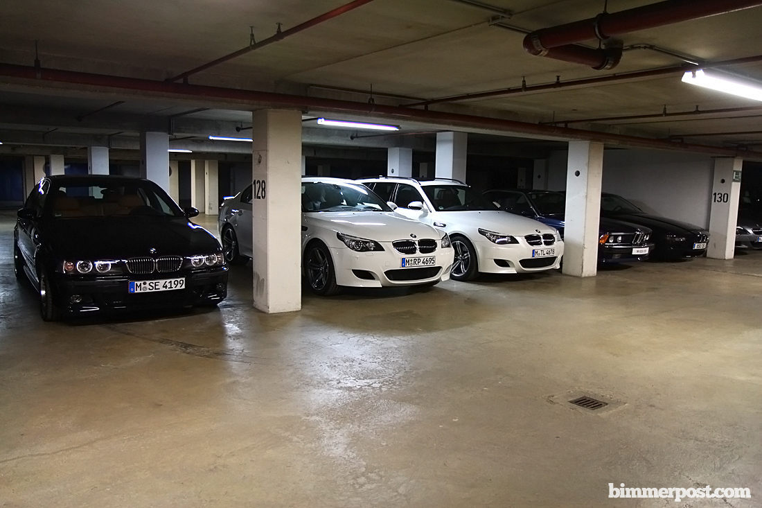 Bmw 39 s m underground garage bimmerfest bmw forums for Garage bmw en france