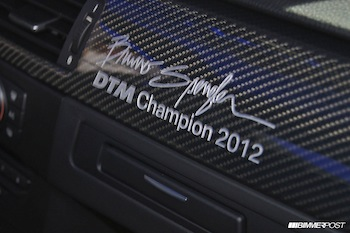 Introducing the Limited BMW M3 DTM Champion Edition
